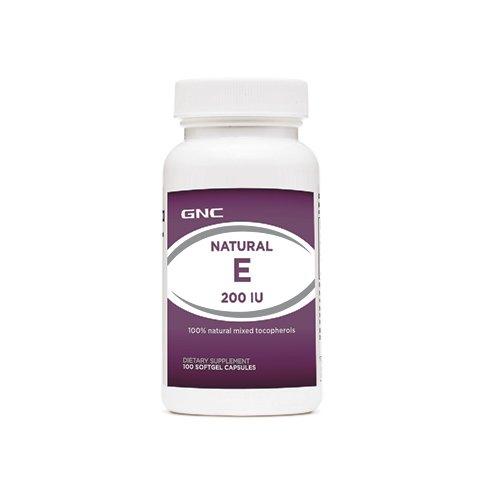 GNC-ВИТАМИН Е-100 желатинови капсули